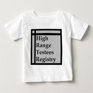 High Range Testees Registry (HRTR) Baby T-Shirt