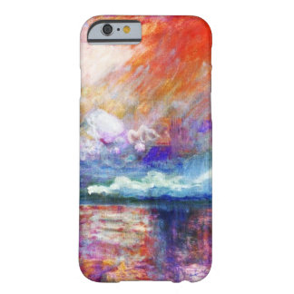 High Res Claude Monet Charing Cross Bridge Barely There iPhone 6 Case