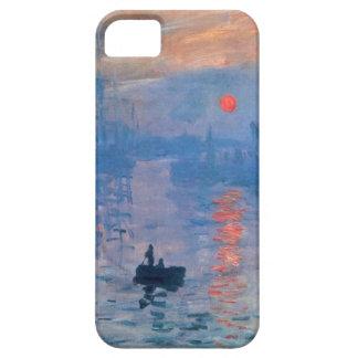 High Res Claude Monet Impression Sunrise iPhone 5 Cover