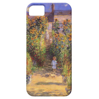 High Res Claude Monet  Seine bank at Vetheuil Barely There iPhone 5 Case