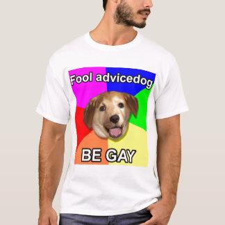 "High res ""Fool advice dog"" T-Shirt"
