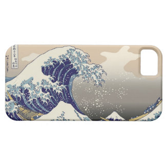 High Res Hokusai The Great Wave iPhone 5 Cases