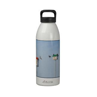 High-Rise Bird Condo Big Water Bottle Drinking Bottles