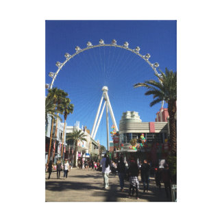 High Roller Ferris Wheel Las Vegas Canvas