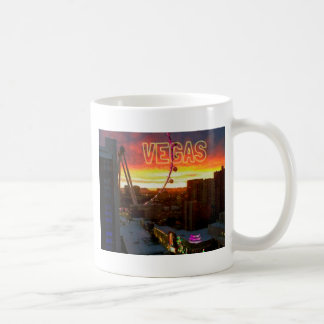 High Roller Ferris Wheel Sunrise in Vegas Coffee Mug