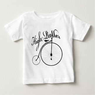 High Roller Funny Vintage Style Design Baby T-Shirt