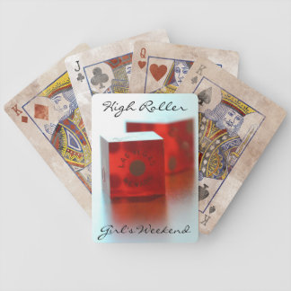 High Roller Girl's Weekend Poker Playing Cards