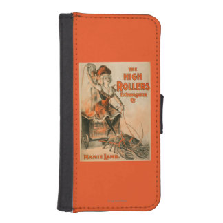 "High Rollers Extravaganza ""Mamie Lamb"" Play iPhone SE/5/5s Wallet Case"