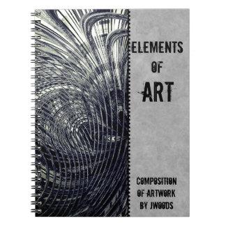 High School ART Composition Notebook for Him