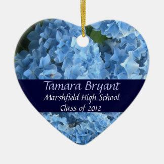 High School Class of 2012 Heart Keepsake Christmas Tree Ornament
