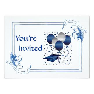 HIGH SCHOOL Graduation 14 Cm X 19 Cm Invitation Card