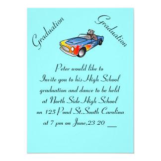 High School Graduation Dance Photo Card 14 Cm X 19 Cm Invitation Card