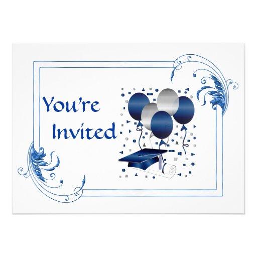 HIGH SCHOOL Graduation Invitation