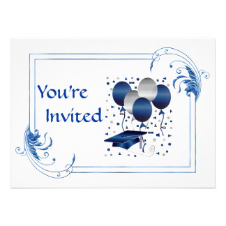 HIGH SCHOOL Graduation Custom Announcement