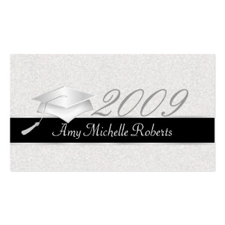 High School Graduation Name Cards - 2009 Double-Sided Standard Business Cards (Pack Of 100)