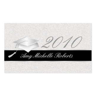 High School Graduation Name Cards - 2010 Pack Of Standard Business Cards