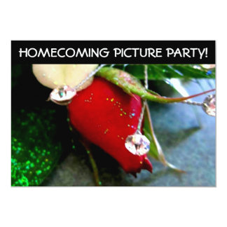 High School Pre Dance Picture Party Card