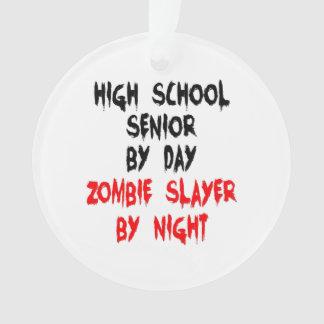 High School Senior Zombie Joke Ornament