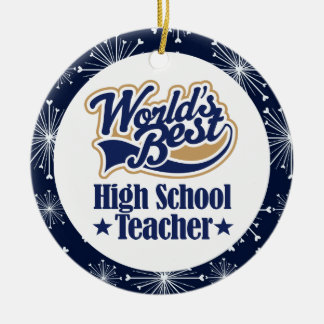 High School Teacher Gift Christmas Ornaments