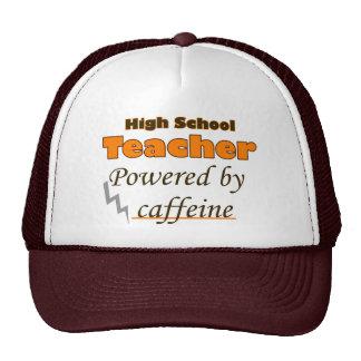 High school Teacher Powered by caffeine Cap