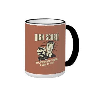 High Score: Everybody Needs Goal Life Ringer Mug