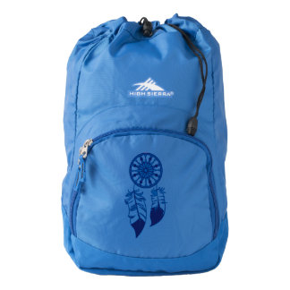 High Sierra Backpack, Blue with Dreamcatcher Backpack