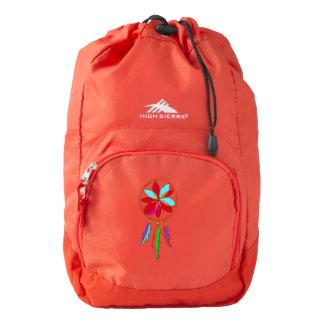 High Sierra Backpack, Red Dreamcatcher Backpack