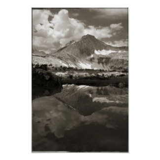 High Sierra Lake Poster
