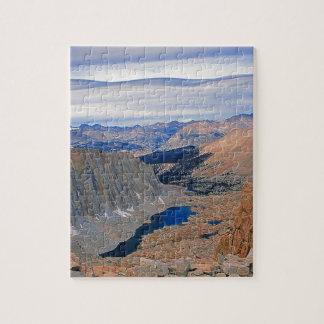 High Sierra Nevada Lake Jigsaw Puzzle