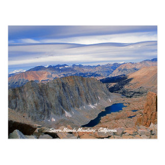 High Sierra Nevada Lake Postcard