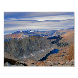 High Sierra Nevada Lake Poster