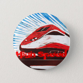 High Speed 6 Cm Round Badge