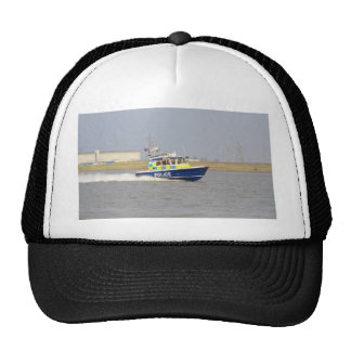 High Speed Police Boat Trucker Hats