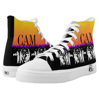 High Steppin' Jazz Sole Food Printed Shoes