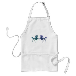 High Stepping Horse Logo Apron