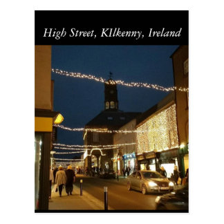 High Street, Kilkenny. Ireland Postcard