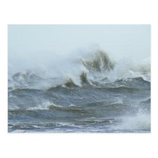 High Surf - Outer Banks North Carolina Postcard