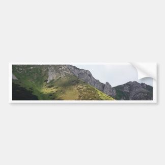 High Tatra Mountains in Slovakia Bumper Sticker