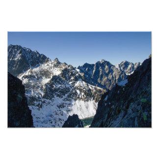 High Tatra mountains, Slovakia Photo Print