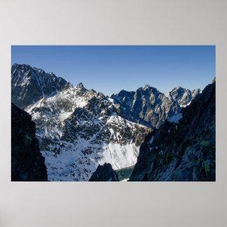 High Tatra mountains, Slovakia Poster