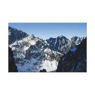 High Tatras mountain, Slovakia Canvas Print