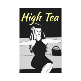 High Tea - Canvas Art