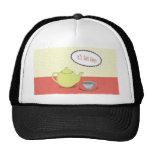 High tea design hat