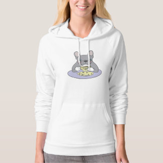 High Teas with Cute Blue Brindle Frenchie Hoodie