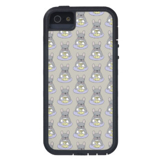 High Teas with Cute Blue Brindle Frenchie iPhone 5 Case