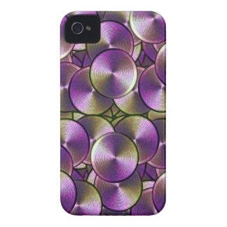 High-Tech Circles iPhone 4 Case-Mate Case