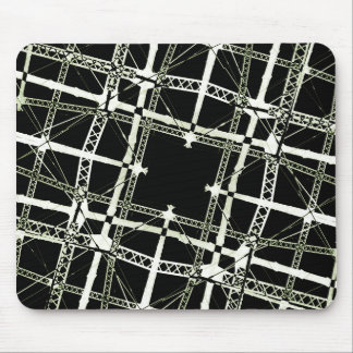 High Tech Grid Mouse Pad