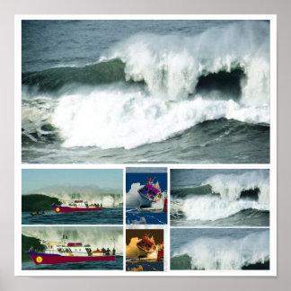 HIGH Tide MAVRICK Waves Posters