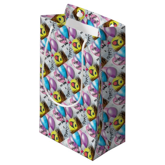 .High time for a party Small Gift Bag