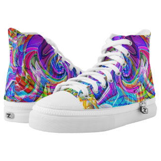 High Top Custom Colorpop! Shoes Printed Shoes